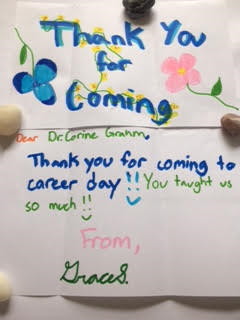 May 2017 Middle School Career Fair Thank You Note